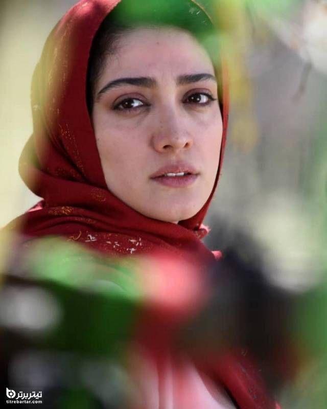 مینو شریفی در نقش آتیه در سریال خسوف