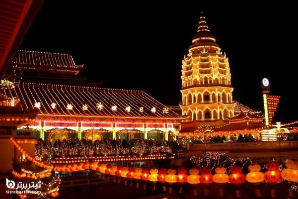 شهرهای مهم گردشگری مالزی
