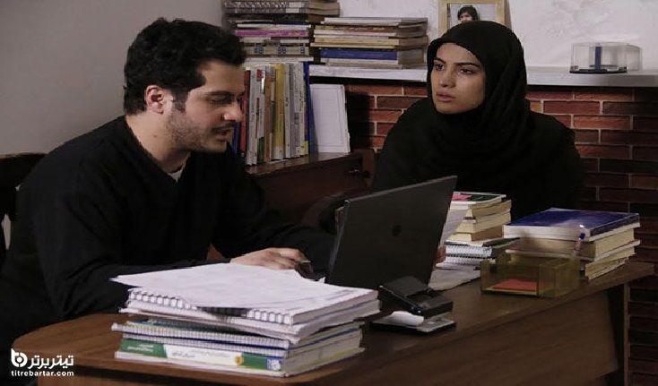 بازی مهروز ناصر شریف در سریال راه طولانی
