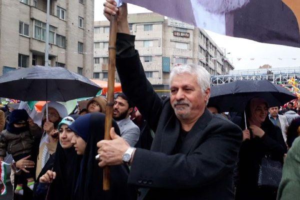 حضور پررنگ دبیرکل و اعضای شورای مرکزی حزب همدلی همت تهران در راهپیمایی ۲۲ بهمن