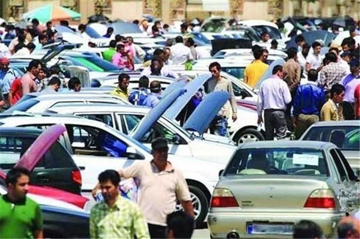 بازار خودرو از سکه افتاد