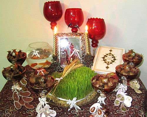 ایده برای تم سفره هفتسین عید باستانی نوروز