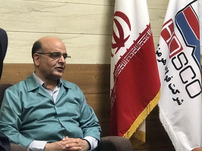 مدیرعامل گروه فولاد مبارکه در بازدید از فولاد هرمزگان مطرح کرد: