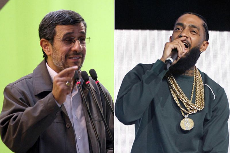 ناراحتی احمدی نژاد از مرگ یک رپر