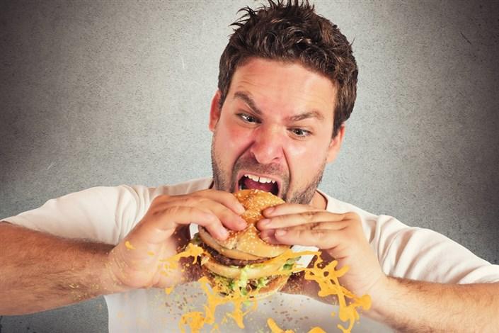 تند غذا بخورید چاق می شوید!!!