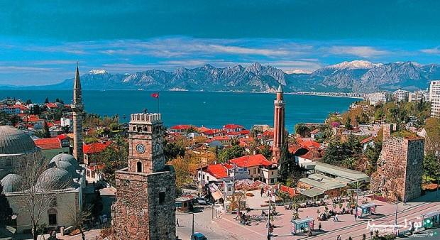 «آنتالیا» بزرگترین مرکز گردشگری و تفریحی ترکیه