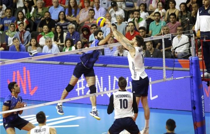 بررسی عملکرد والیبالیستهای ایران در هفته اول و دوم لیگ ملتهای والیبال + جدول رده بندی