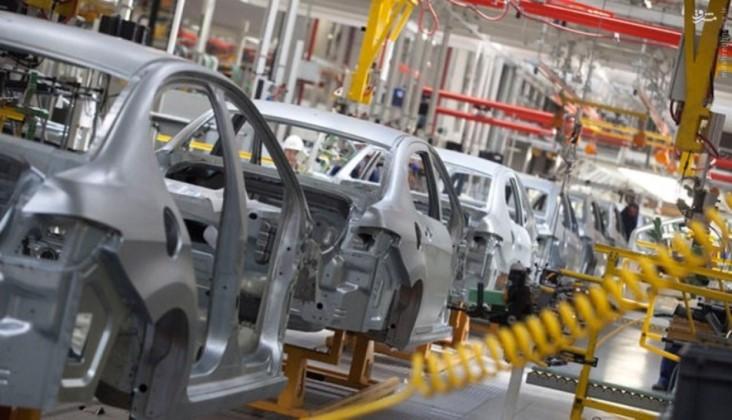 کاهش تولید خودرو در سال رونق تولید