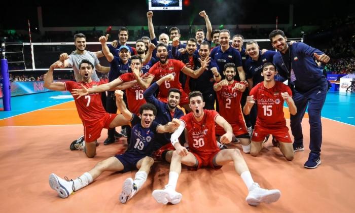 بازتاب صدر نشینی  ایران در لیگ ملتهای والیبال