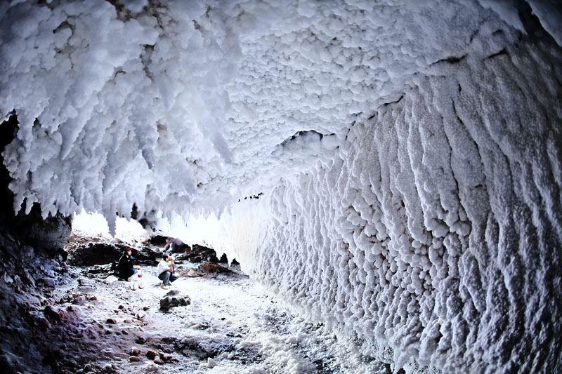 طولانیترین غار نمکی جهان در قشم