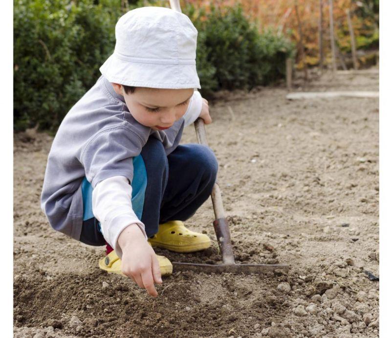 رشد خلاقیت در کودکان با خاک بازی