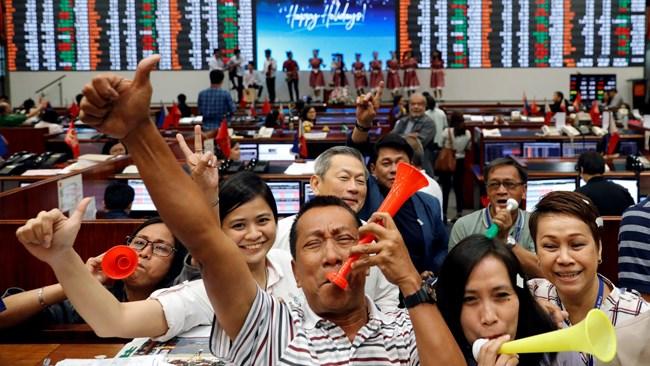 رشد بورسهای آسیایی با تأخیر در وضع تعرفههای جدید علیه چین