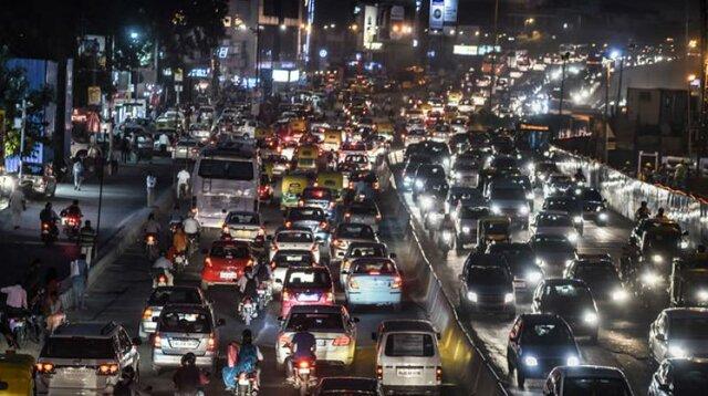 ترافیک سنگین در ورودی استانهای مذهبی کشور