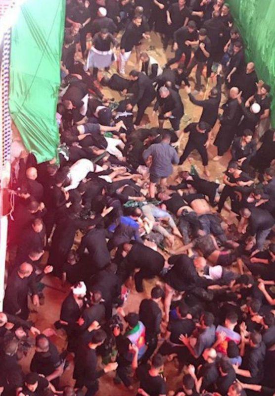 حادثه «ازدحام جمعیت» در مراسم عاشورای حسینی در کربلا
