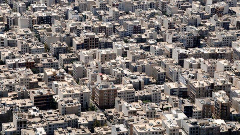 میانگین قیمت املاک در تهران