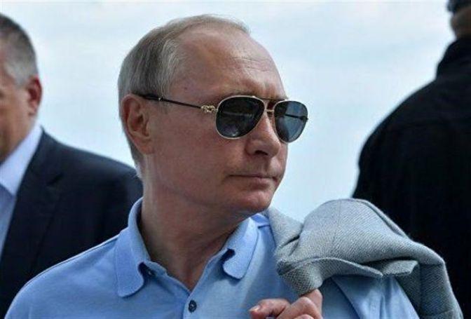 پوتین تولدش را در سیبری جشن گرفت+ فیلم
