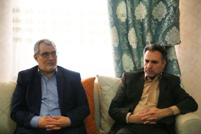 دیدار با خانواده معظم شهید نیروی انتظامی در هفته ناجا