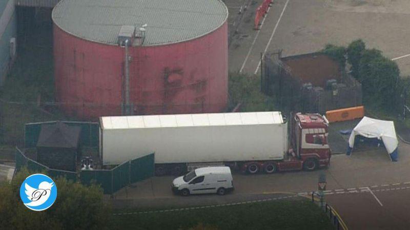 کشف 39 جسد در کانتینر یک کامیون در انگلیس