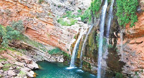 بزرگترین آبشار خاورمیانه در کجاست؟
