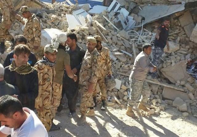 آمادگی کامل یگان های ارتش برای زلزله دیده ها