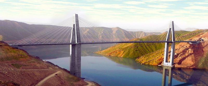 پنج پل مرتفع در ایران