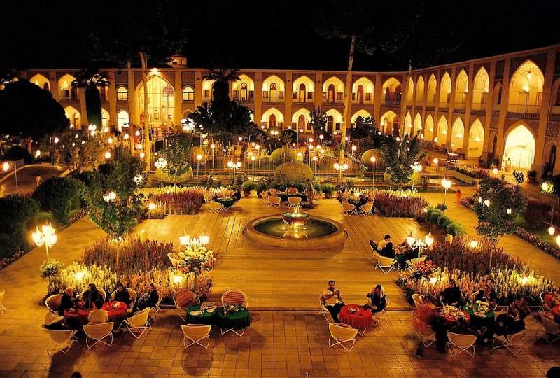 موقوفه کاروان سرای شاه عباسی و منطقه ابوزیدآباد
