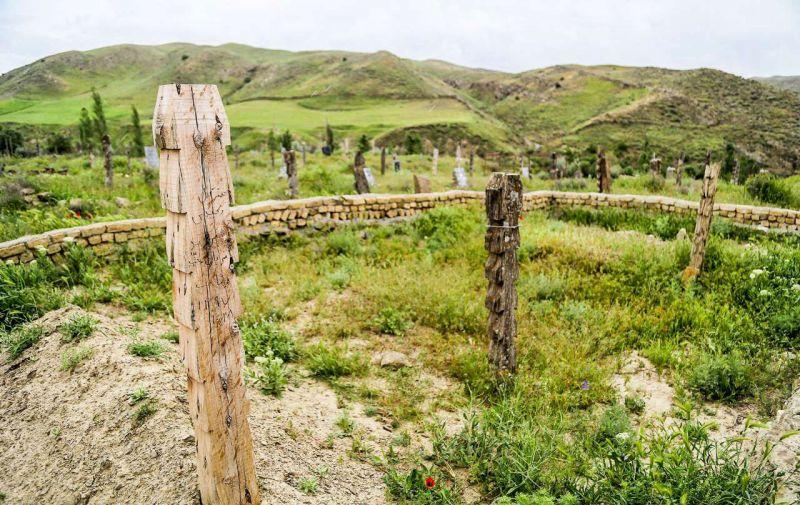 قبرستانی عجیب در شرق ایران