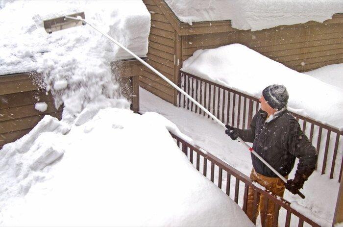 راهکارهایی برای محافظت خانه در برابر برف