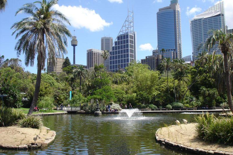 باغ رویال سیدنی با منظره های دیدنیاش