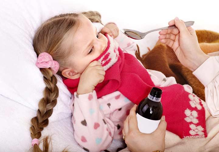 بهترین دارو برای درمان بیماری آنفلوآنزا در کودکان