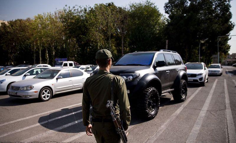 دستگیری عامل  اسیدپاشی روی خودروهای لوکس پایتخت