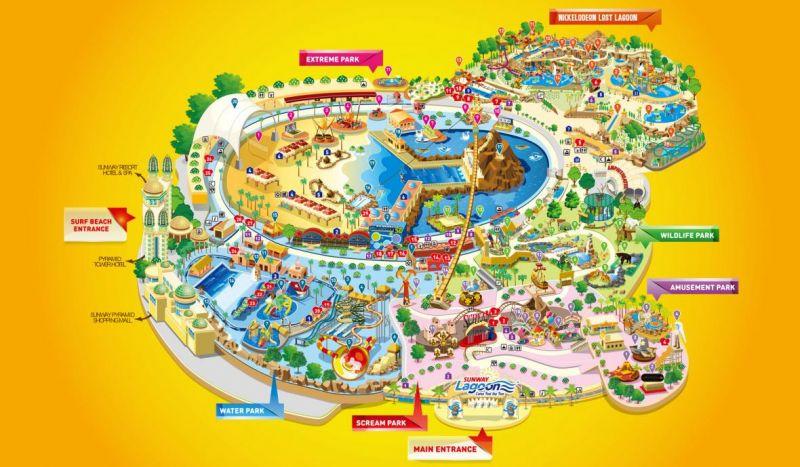 زیباترین پارک آبی جهان در کجاست؟
