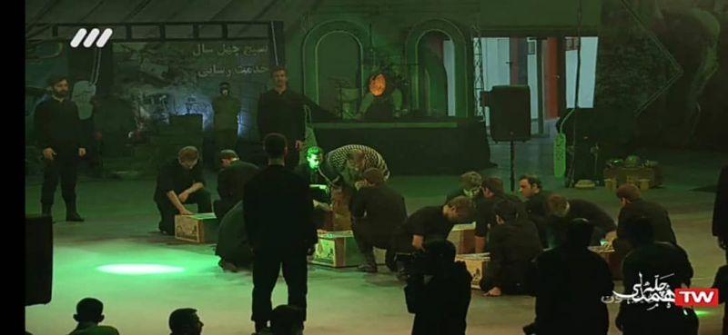 کنگره ملی ۹۲۰۰۰ شهید بسیجی کشور برگزار شد