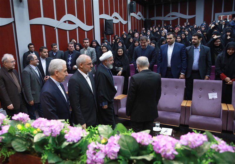 حواشی حضور روحانی در دانشگاه فرهنگیان
