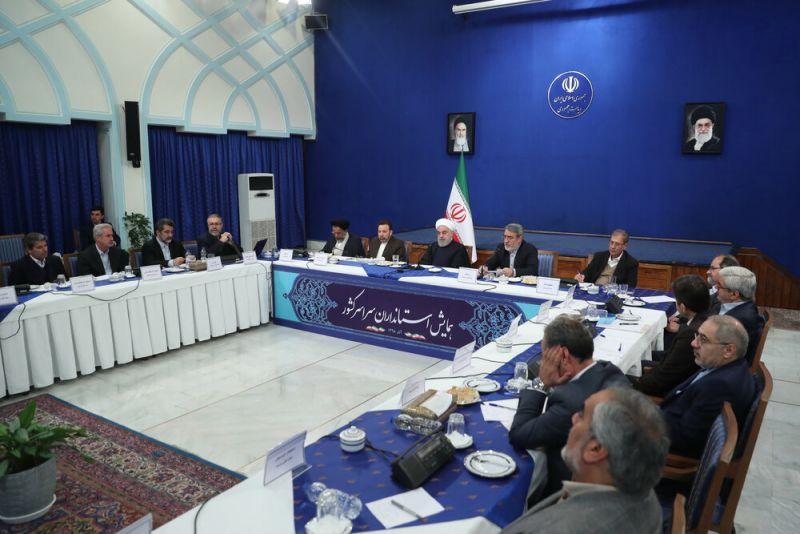 تشریح اهداف روحانی از بنزین و دستور به استانداران