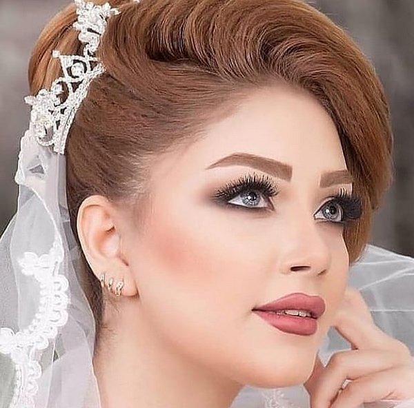 زیباترین مدل های آرایش عروس 2020