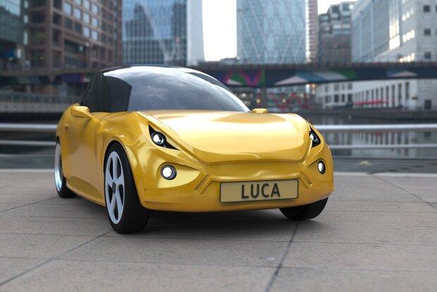لوکا؛ خودرویی برقی ساخته شده از زباله