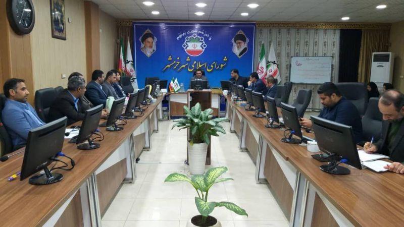 رییس شورای شهر اسلامی خرمشهر: