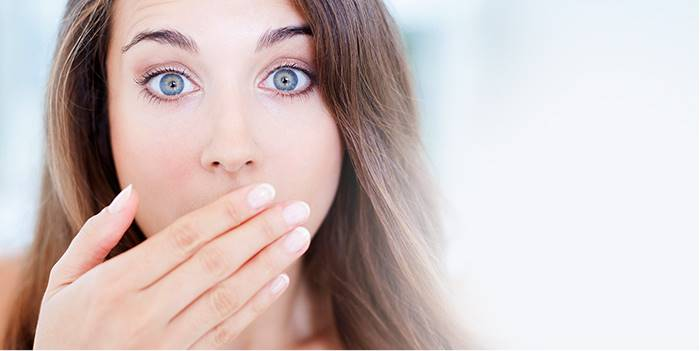 بوی بد دهان از چیست: