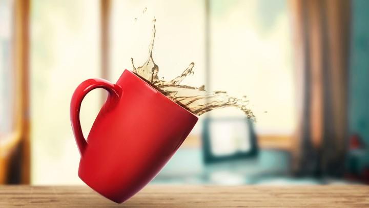 محلول خانگی اپاک کننده لکه چای