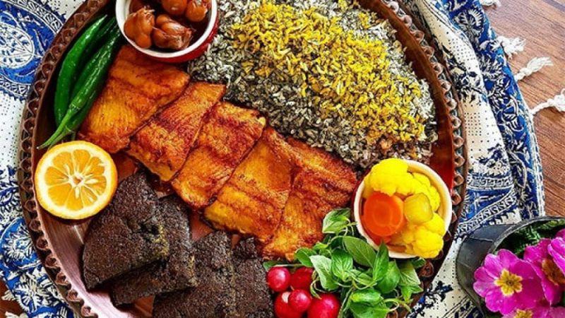 آموزش تهیه سبزی پلو با ماهی برای عید 1400