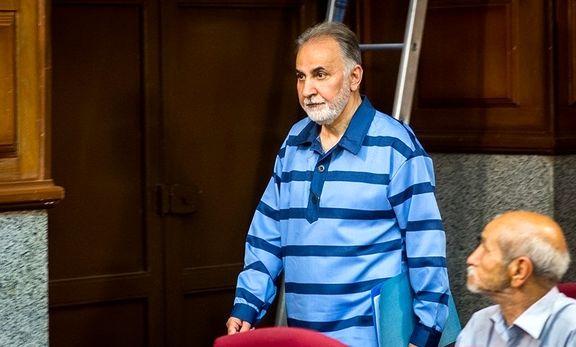 حال نامساعد نحفی در زندان با علائم کرونا