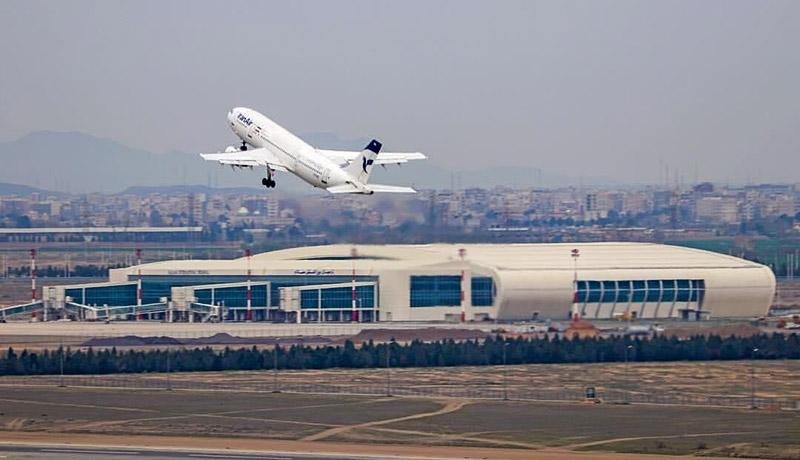 افت شدید پروازهای ایران: