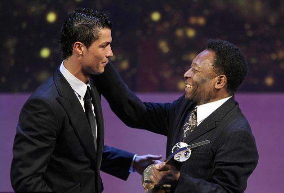 بهترین بازیکن دنیا از نظر پله