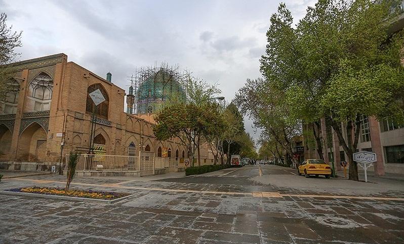 تردد خودرو در روز 13 فروردین ماه در معابر شهری اصفهان ممنوع شد