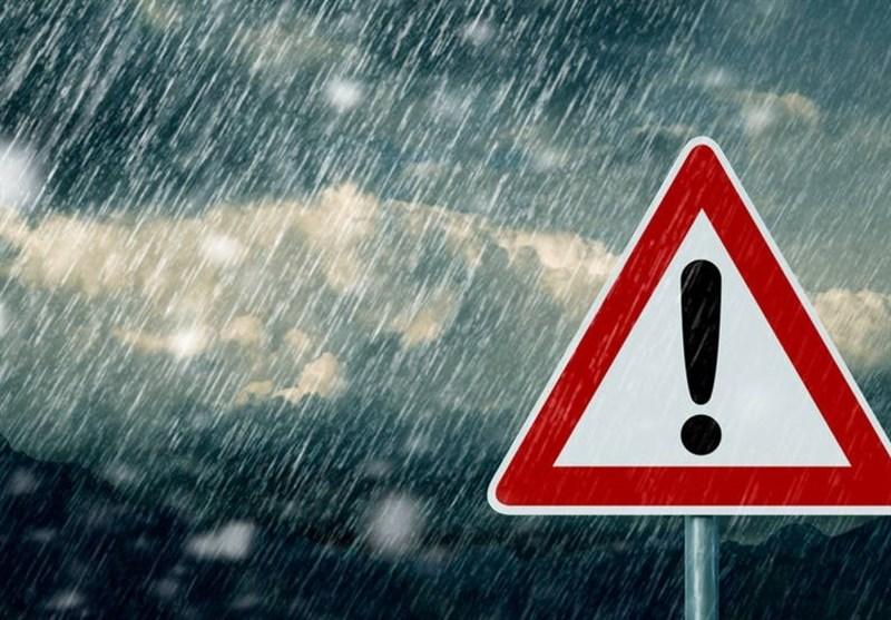 هشدار بارش شدید باران و وقوع سیلاب در ۱۸ استان کشور