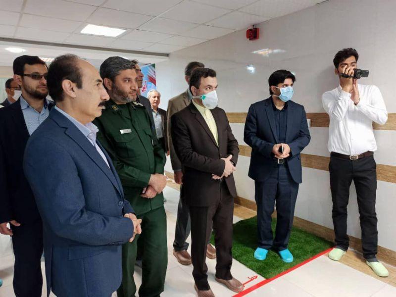 افتتاح دومین مرکز آزمایشگاهی تشخیص بیماری کووید ۱۹ در خوزستان