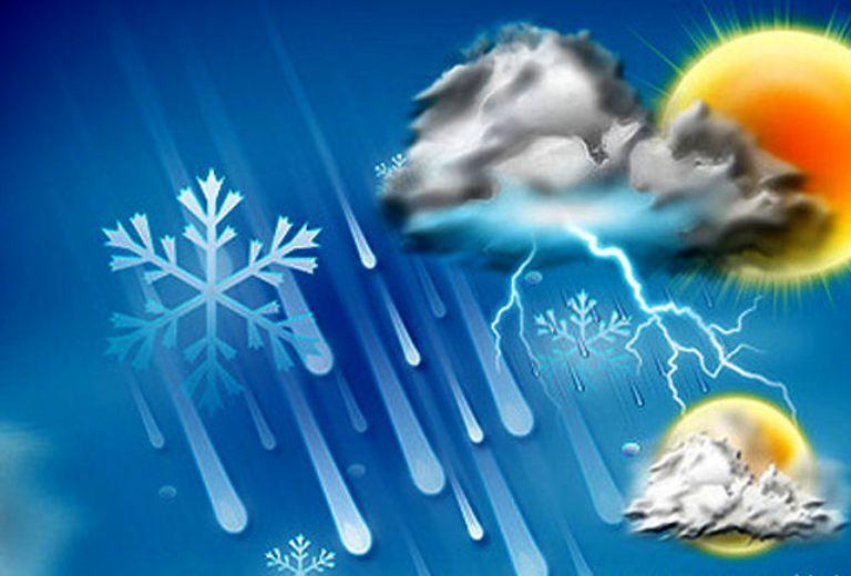 هوای کدام استانها بارانی می شود؟