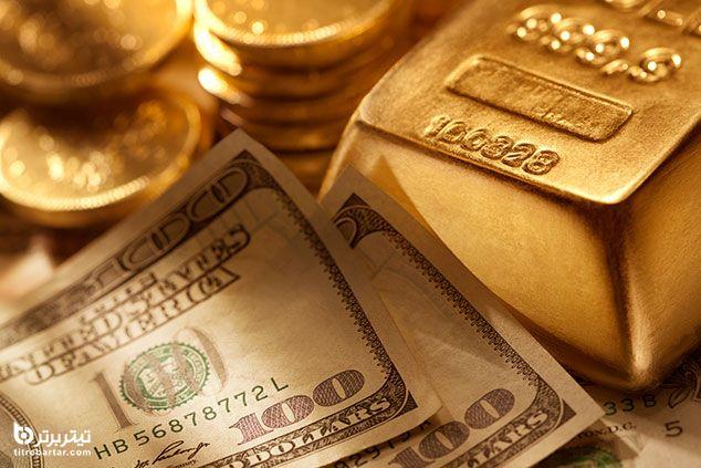 علت کاهش قیمت طلا و دلار در هفته اول اسفند 99