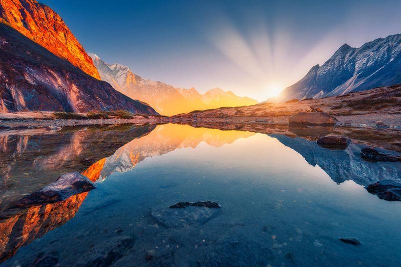 کوه های دیدنی جهان در یک نگاه
